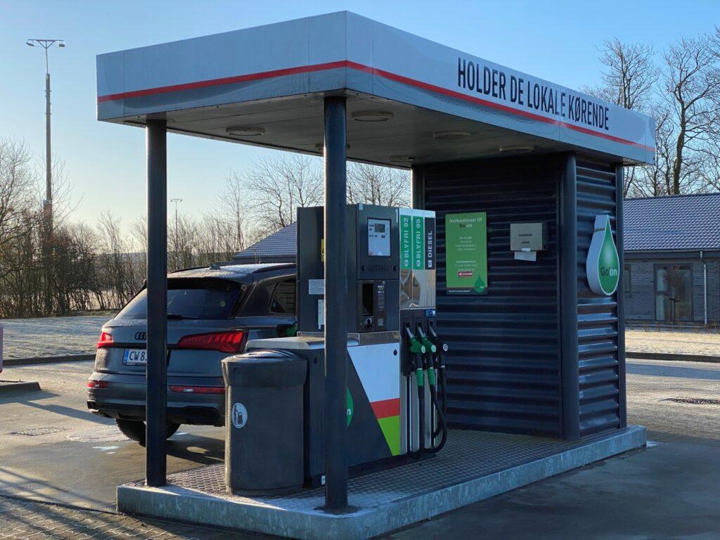 Go On Borbjerg bygget tankstation