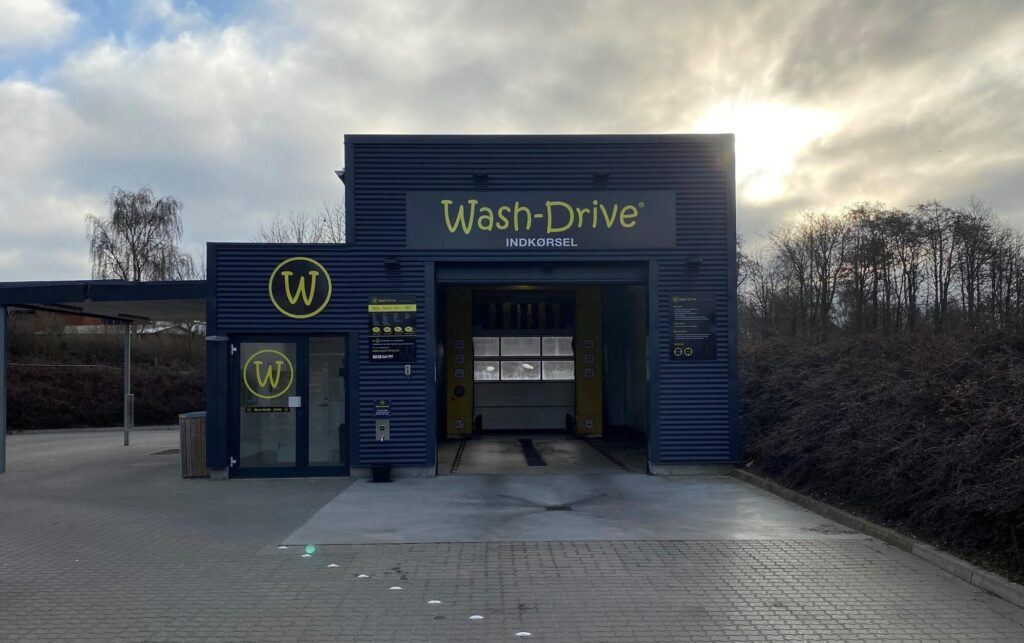 vi bygger vaskehaller Jensen og Jensen wash on tvis