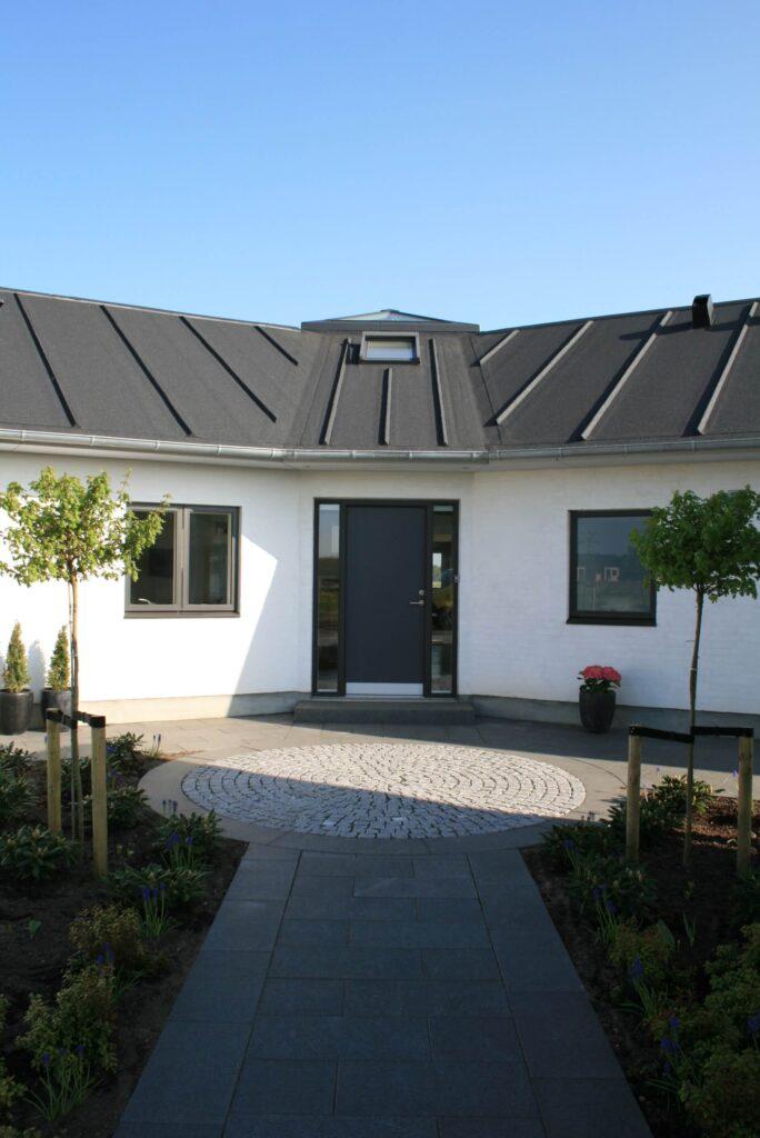 nybygget hus holstebro